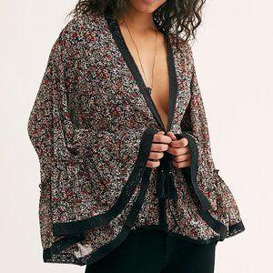 NWOT Free People Lola Kimono